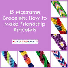bracelet free friendship images 21 macrame bracelet patterns how to make friendship bracelets jpg