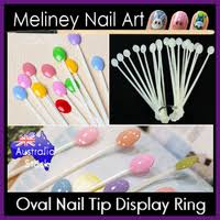 50pc triple nail ring meliney nail art supplies