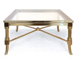 Brass And Glass Coffee Table Coffee Tables Decor Antique Brass Coffee Table Reproduction