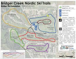 Montana Time Zone Map by Montana Ski Resorts Bozeman Cross Country Skiing Bridger Bowl