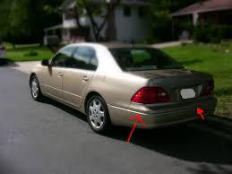 lexus rear bumper part chrome trim rear bumper clublexus lexus forum discussion