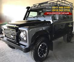 new land rover defender 2016 2016 land rover defender 90 adventure highendcars ph