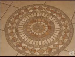 tile floor medallion home remodeling wichita farha hometrends