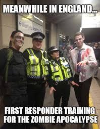 Funny Police Memes - police training funny zombie apocalypse memes pics bajiroo com