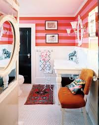 Red And Black Bathroom Ideas 24 Bold Ideas For Striped Walls Brit Co