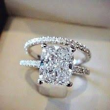 Zales Wedding Rings For Her by Zales Solitaire With Accents Engagement U0026 Wedding Ring Sets Ebay