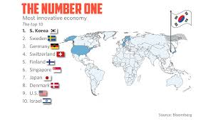 most high tech countries the world s most innovative economy marketwatch