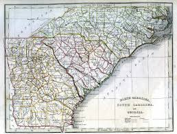 Georgia Road Map Map Library
