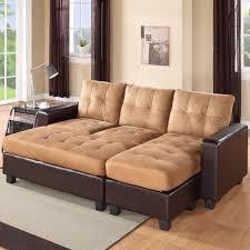 Aspen Leather Sofa Furniture Black Friday Hton Leather Reversible Sectional