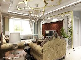 Living Room Ideas Gold Wallpaper Living Room Television Ceramic Vase Coffee Table Black Leather