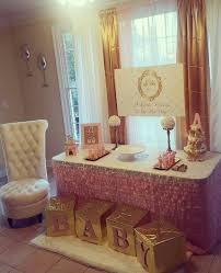 white and gold baby shower best 25 gold baby showers ideas on baby shower