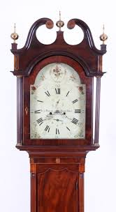 new jersey tall case grandfather clocks adams brown co antique