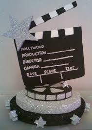 hollywood theme centerpieces polystyrene centerpieces i love