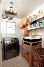 Small Sink For Laundry Room by Small Space Laundry Room With Sink And Stainless Steel Open