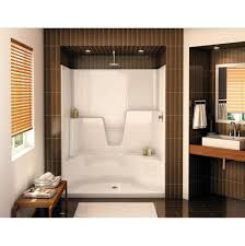 Baths And Showers Aker Showers White White Kitchens And Baths By Briggs Grand