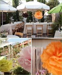 Backyard Birthday Ideas Real Parties Charming Backyard Birthday Party With A French