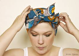 easy diy head wrap how to make a turban decorating on cut out