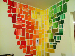 Pinterest Wall Art by Free Wall Art With Paint Chips Paint Chips U003d Art Pinterest