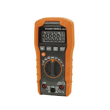 klein tools mm400 auto ranging digital multimeter amazon com