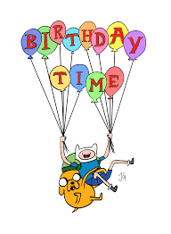 adventure time birthday time by flyingscorpions on deviantart