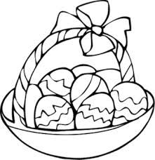 printable 28 cool easter basket coloring pages 12028 coloring