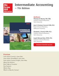 mcgraw hill education beechy intermediate accounting