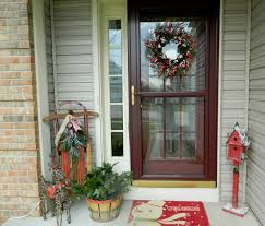interior surprising design christmas wreath ideas with red green interior beautiful dark brown glass stainless wood unique design christmas front door grip wreath at home