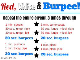 Bedroom Workout No Equipment Red White U0026 Burpee The Warm Up