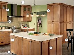 kitchen outstanding maple kitchen cabinets and wall color revere