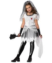 Boys Skeleton Halloween Costume Bride Skeleton Kids Costume Bride Costumes