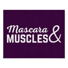 Mascara Meme - mascara muscles gym quote poster fitness posters memes