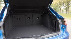 porsche macan cargo space 2017 porsche macan turbo with performance package review roadshow