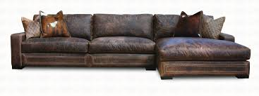 Colored Sectional Sofas by Downtown Cowboy Leather Sectional Sofa Collection Santa Fe Ranch