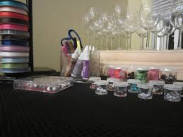 wine glass party favor wine tasting party diy inspired
