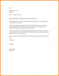 Thank You Business Letter Format by 10 Business Resignation Letter Format Cashier Resumes