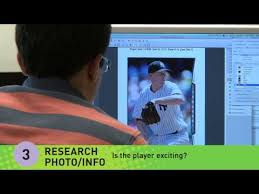 create your own baseball cards from youtube skeop