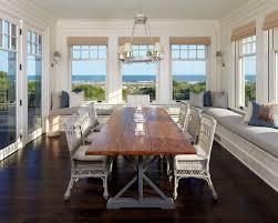 Beach House Window Treatment Houzz - Beachy dining room