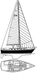 endeavour 33 sailboat design history and boat specifications