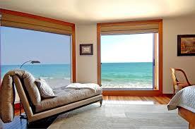 ocean sea window california lamp house malibu beach view chair