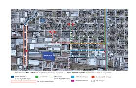Unlv Map Street Closures For The Chevron Houston Marathon Houston Public