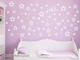 Schlafzimmer Yin Yang Wandtattoo Sterne Set 85 Stück Tocut Werbetechnik Wandtattoo