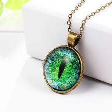 cat eye pendant necklace images Vintage jewelry cat eye necklace pendant fashion charming jpg