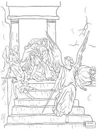 christianity bible baby moses and jochebed coloring pages for kids