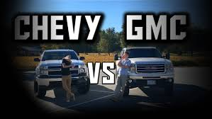 truck gmc who has the best truck gmc or chevy youtube