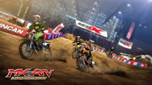 motocross madness xbox 360 mx vs atv supercross teams with a champion