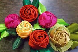 satin roses d i y handmade satin tutorial myindulzens handmade