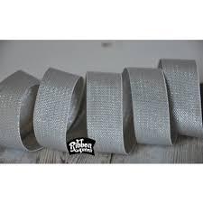 honeycomb ribbon 5 yards 7 8 metallic silver lurex honeycomb woven ribbon
