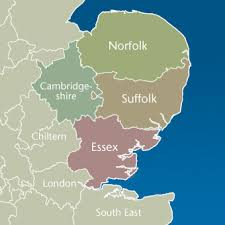 map of east uk east of the crown prosecution service