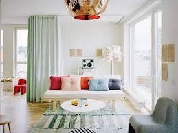 Curtain Separator Unique Curtains Room Divider Ideas For Studio Apartment