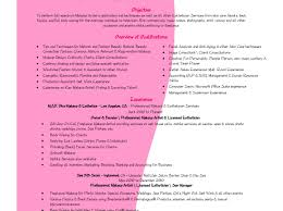 cosmetology resume templates creative cosmetology resume cover letter template design